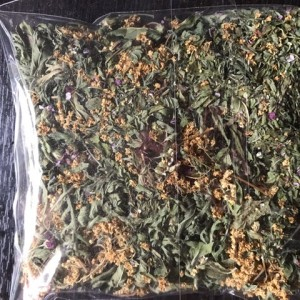 Infusion - yarrow, elder, peppermint